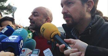"Iglesias se avergüenza de que Merkel ""pase la manita por espalda"" a Rajoy"