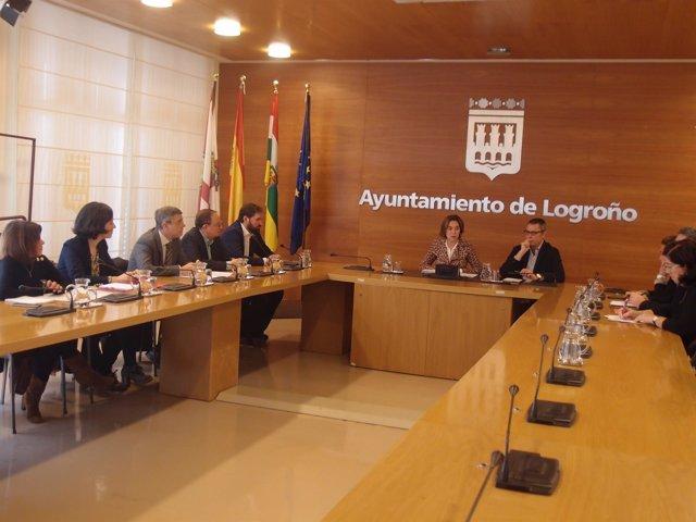 Comisión Suelo Industrial del Ayuntamiento de Logroño