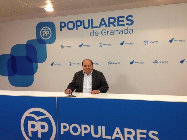 El portavoz del PP en la Diputación de Granada, José Robles