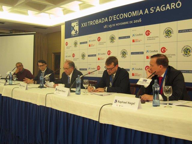 José Adelantado, Enric Fernández, Joan Tugores, Miguel Otero y Raphael Nagel