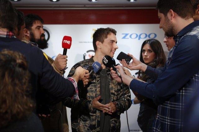 El piloto español de MotoGP Jorge Lorenzo