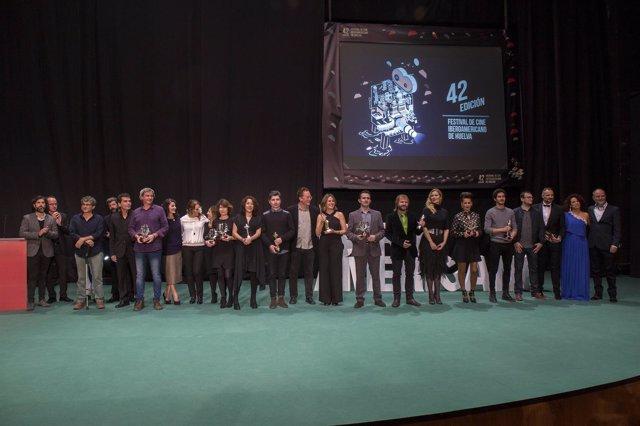 Premiados en la 42ª edición del Festrival de Cine Iberoamericano de Huelva