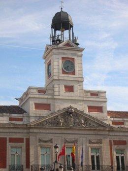 Reloj Puerta del Sol.