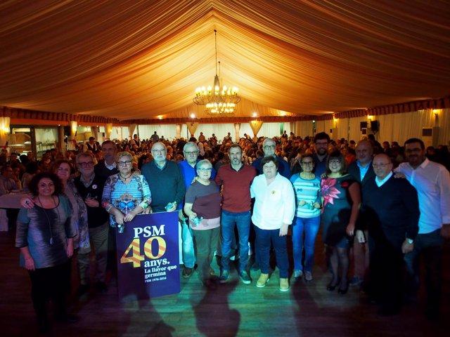 Celebración del 40 aniversario de PSM-Entesa
