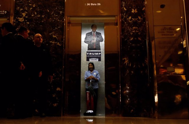Empleada en la Trump Tower