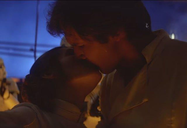 Leia y Han Solo