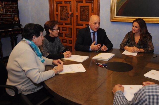 Firma de convenios de Participación Ciudadana de la Diputación de Córdoba