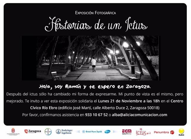 Convocatoria Prensa Expo Solidaria En Zaragoza Historias De Un Ictus