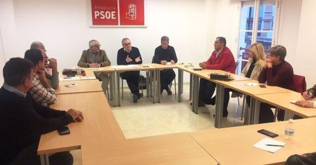 Reunión sectorial de salud del PSOE