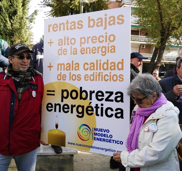 Pobreza energética manifestación