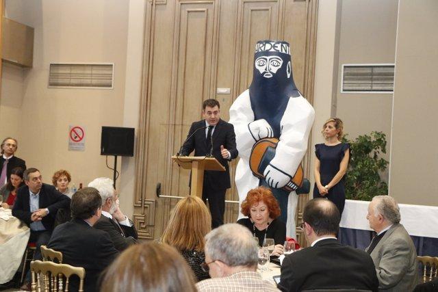 El conselleiro de Cultura en los Premios da Crítica Galicia 2016