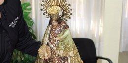 Imagen de la Virgen recuperada por los agentes