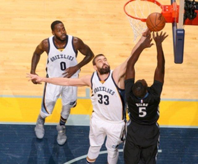Marc Gasol Memphis Grizzlies Minnesota Timberwolves