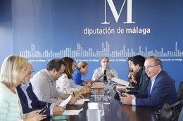 Reunión mantenida por Diputación.
