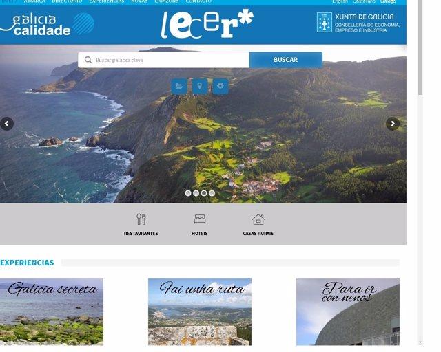 Galicia Calidade y plataforma online Lecer
