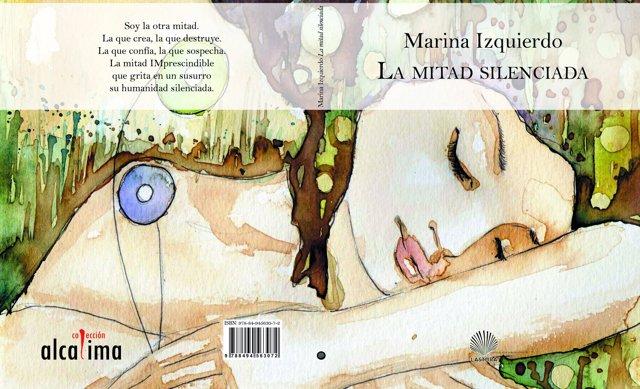 Portada del poemario de Marina Izquierdo 'La mitad silenciada'