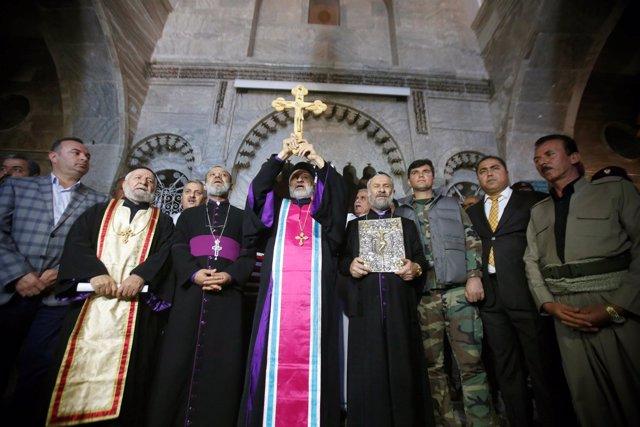 Iglesia cristiana de Mar Korkeis (Irak)
