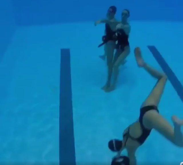 'Mannequin Challenge' De La Sincronizada Española