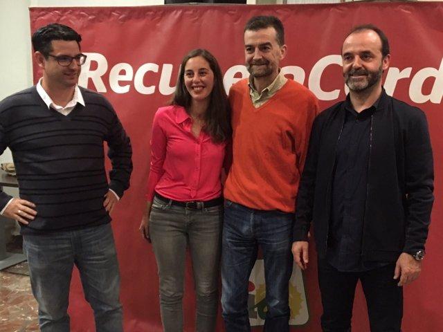 El coordinador general de IU Andalucía, Antonio Maíllo, en Córdoba