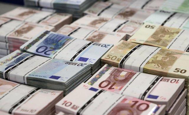 Billetes. Euros.