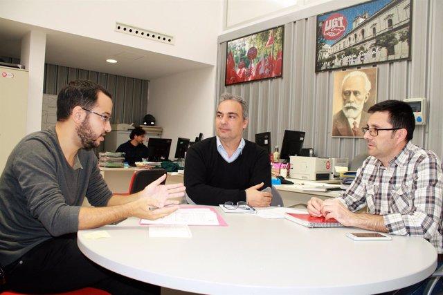 IU en el Ayuntamiento de Sevilla apoya plan de empleo propuesto por UGT
