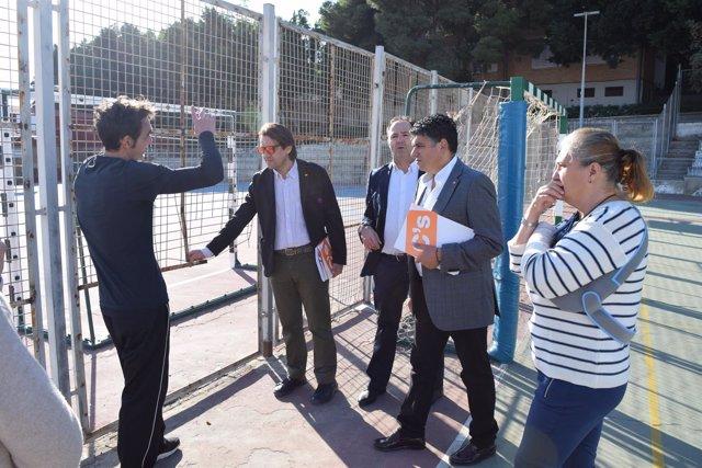 C's Almería pide más dinero para mantenimiento de colegios