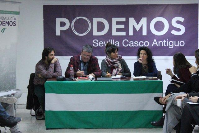 Reunión del Consejo Ciudadano de Podemos Andalucía