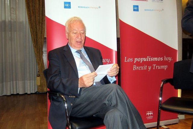 García-Margallo en el foro Gaceta de Salamanca