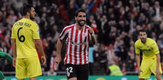 Raúl García da la victoria al Athletic