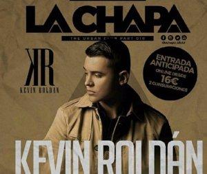 Kevin Roldán de gira por España
