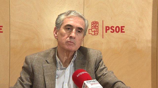 Jáuregui dice que el PSOE no apoyará el Presupuesto