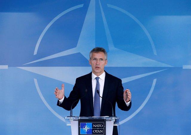 El secretario general de la OTAN, Jens Stoltenberg