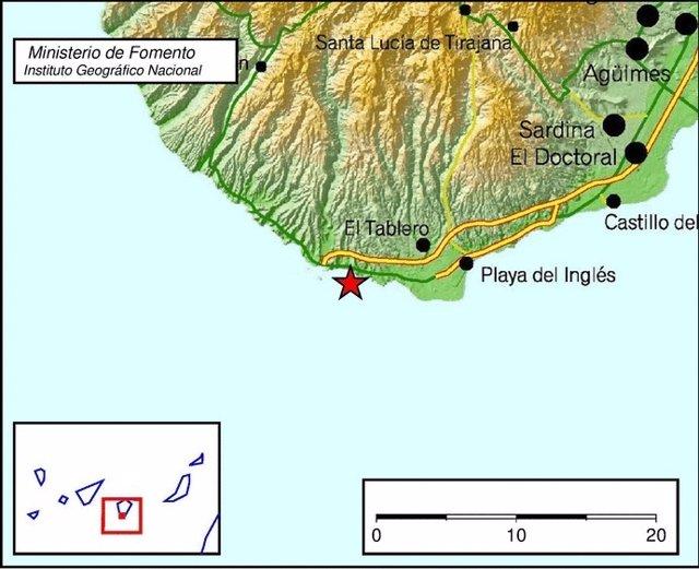 Terremoto de magnitud 3,6 en El Tablero