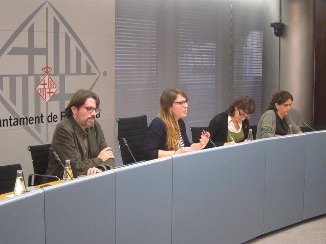Janet Sanz, Mercedes Vidal, Frederic Ximeno, Gemma Tarafa