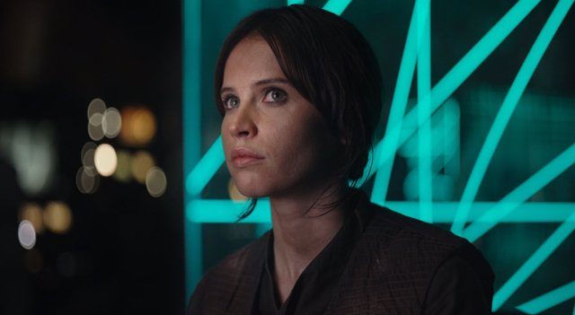 Rogue One, Felicity Jones como Jyn Erso