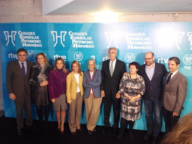 Presentación de 'Ciudades españolas Patrimonio de la Humanidad' de RTVE