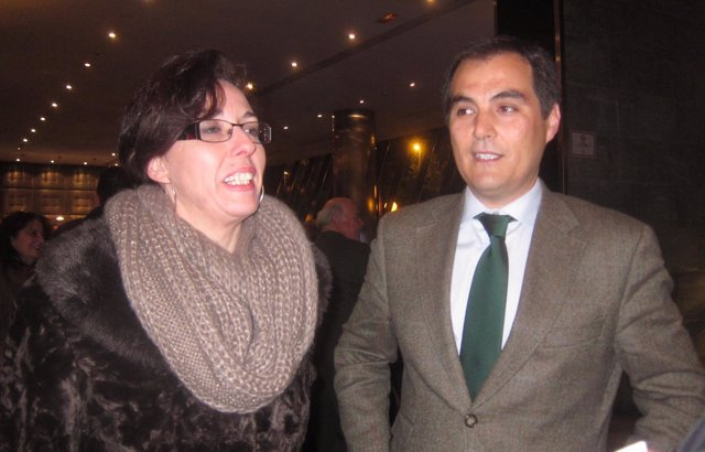 María Luisa Ceballos y José Antonio Nieto