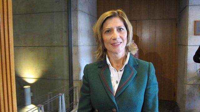 La nueva portavoz del PP en las Cortes de Aragón, María del Mar Vaquero.