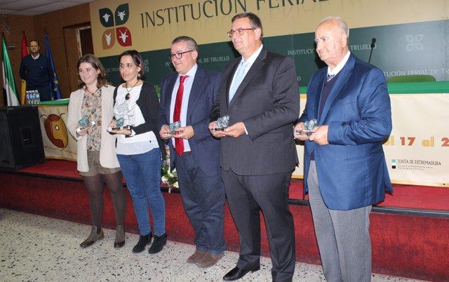 XVI Premios Agroganadera en Trujillo