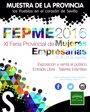 Foto: XI Feria Provincial de Mujeres Empresarias en el patio de Diputación con presencia de 35 municipios