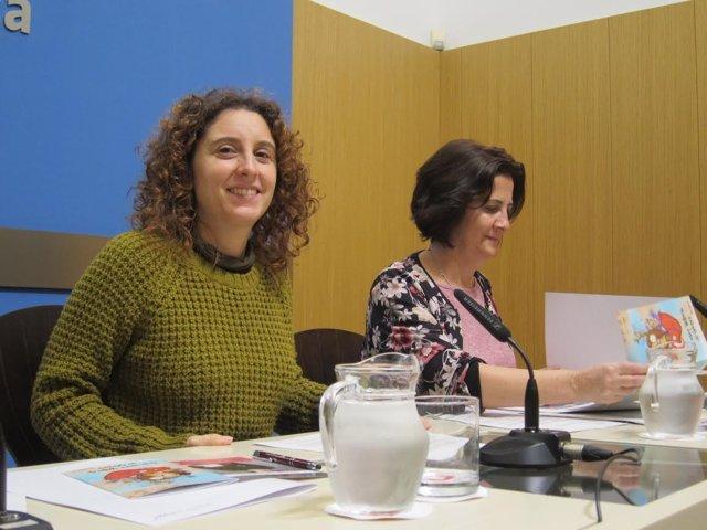 Arantza Gracia y Ana Gaspar
