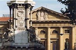 Fachada del Palacio de Navarra.