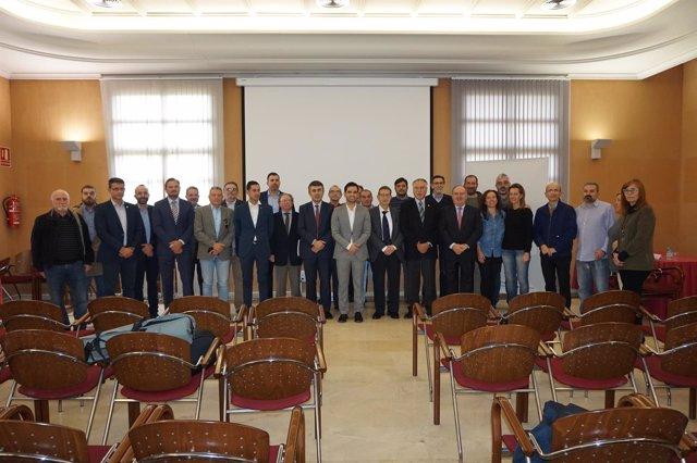 Firmantes de la carta sobre el Corredor Mediterráneo en Paterna