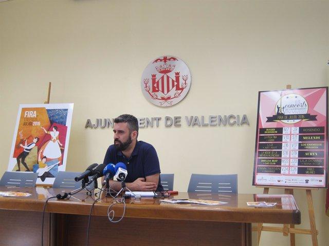 Concejal de Cultura Festiva del Ayuntamiento de Valencia, Pere Fuset