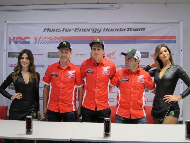Presentación Monster Energy Honda Team Dakar (Foto: Europa Press)