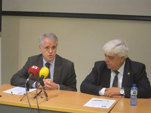 M.López Béjar y O.Rusca (Icab)