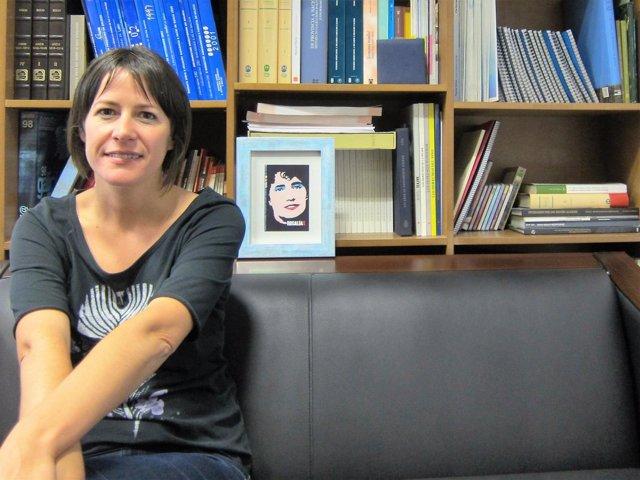 Ana Pontón, portavoz nacional del BNG y candidata a la Xunta, en entrevista