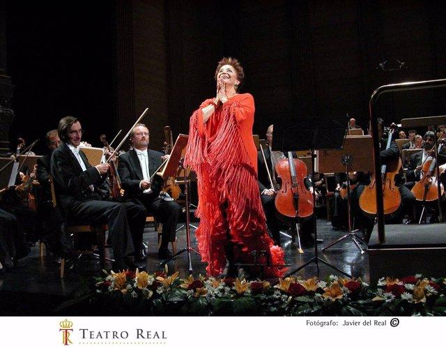 Teresa Berganza presidirá la Fundación de Amigos del Teatro Real