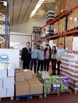 Entrega De 2.165 Kilos De Alimentos Del Desafío Solidario Nutrium Trail Team