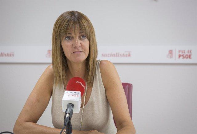 Entrevista de Europa Press a Idoia Mendia